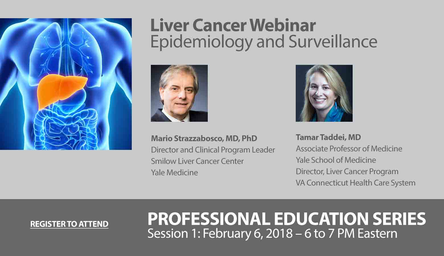 Liver Cancer Webinar – Epidemiology and Surveillance