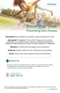 prevention of liver disease