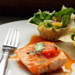 Spinach, Salmon and Grapefruit Salad