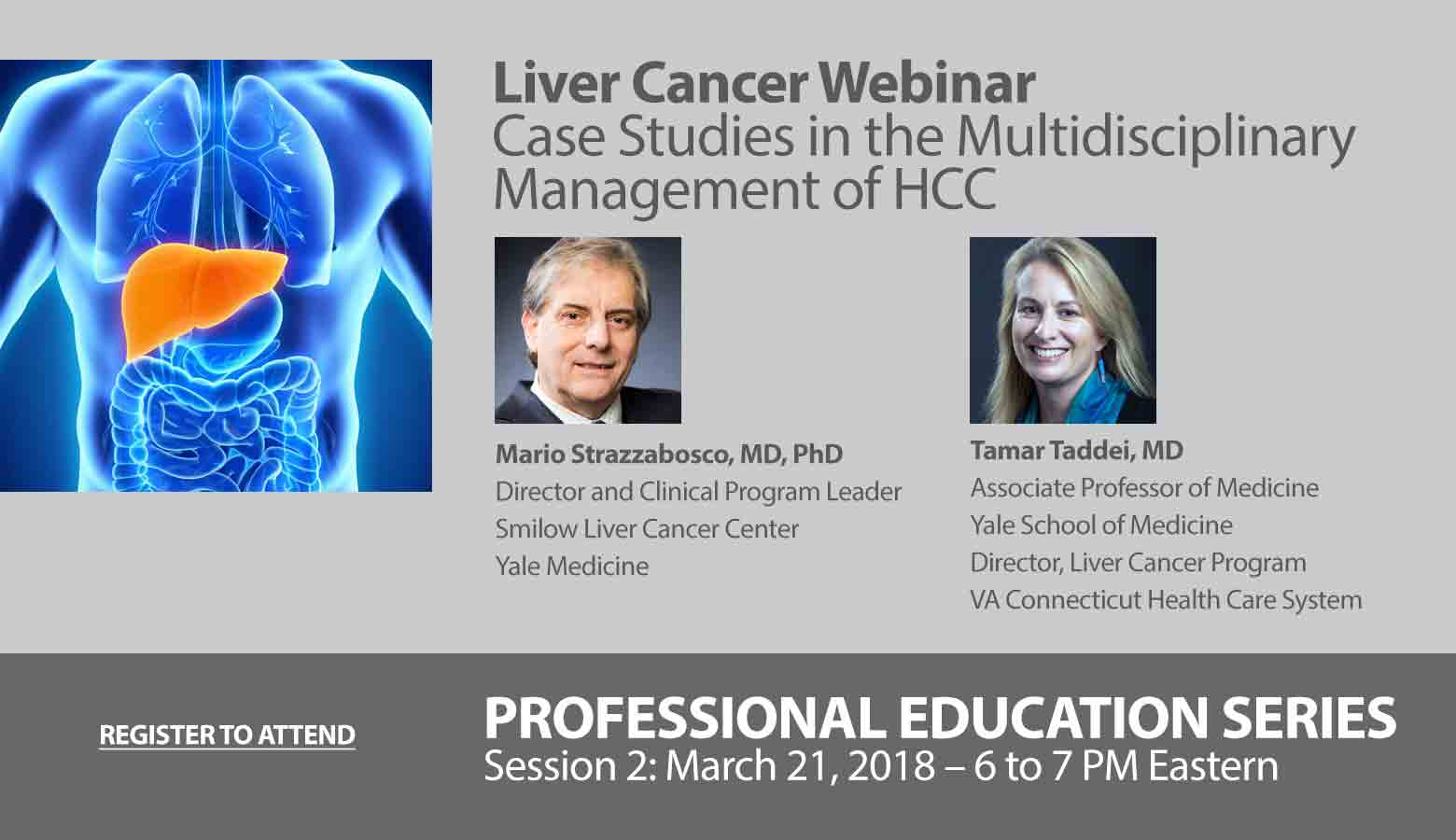Liver Cancer Webinar – Case Studies in the Multidisciplinary Management of HCC