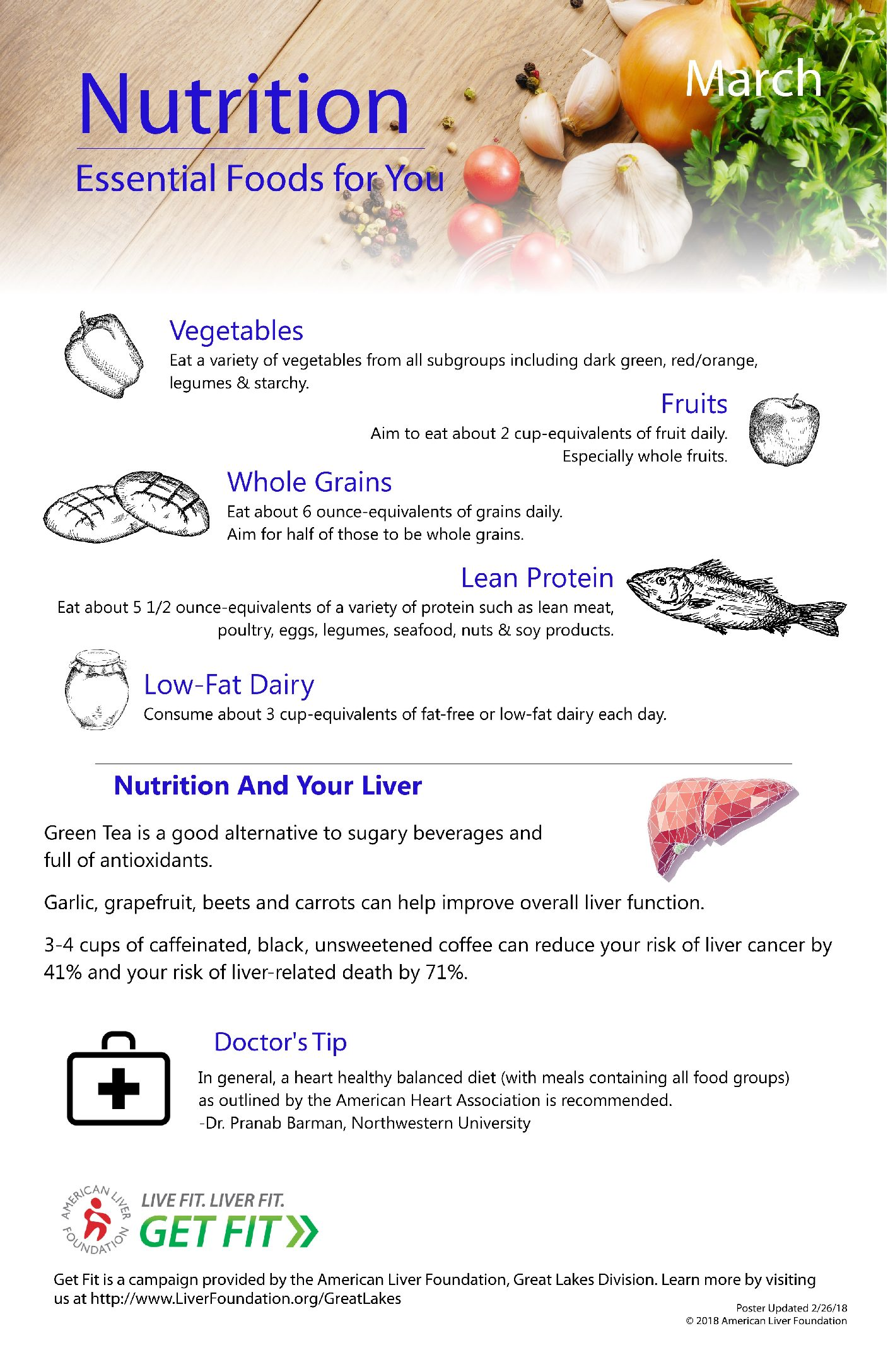 Liver Disease Diet - American Liver Foundation  Your Liver