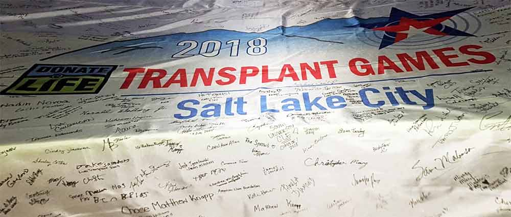 2018 Transplant Games Represented by ALF's Desert Southwest Division