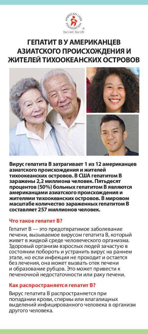 Hepatitis B - Asian-American and Pacific Islander Communities - Russian