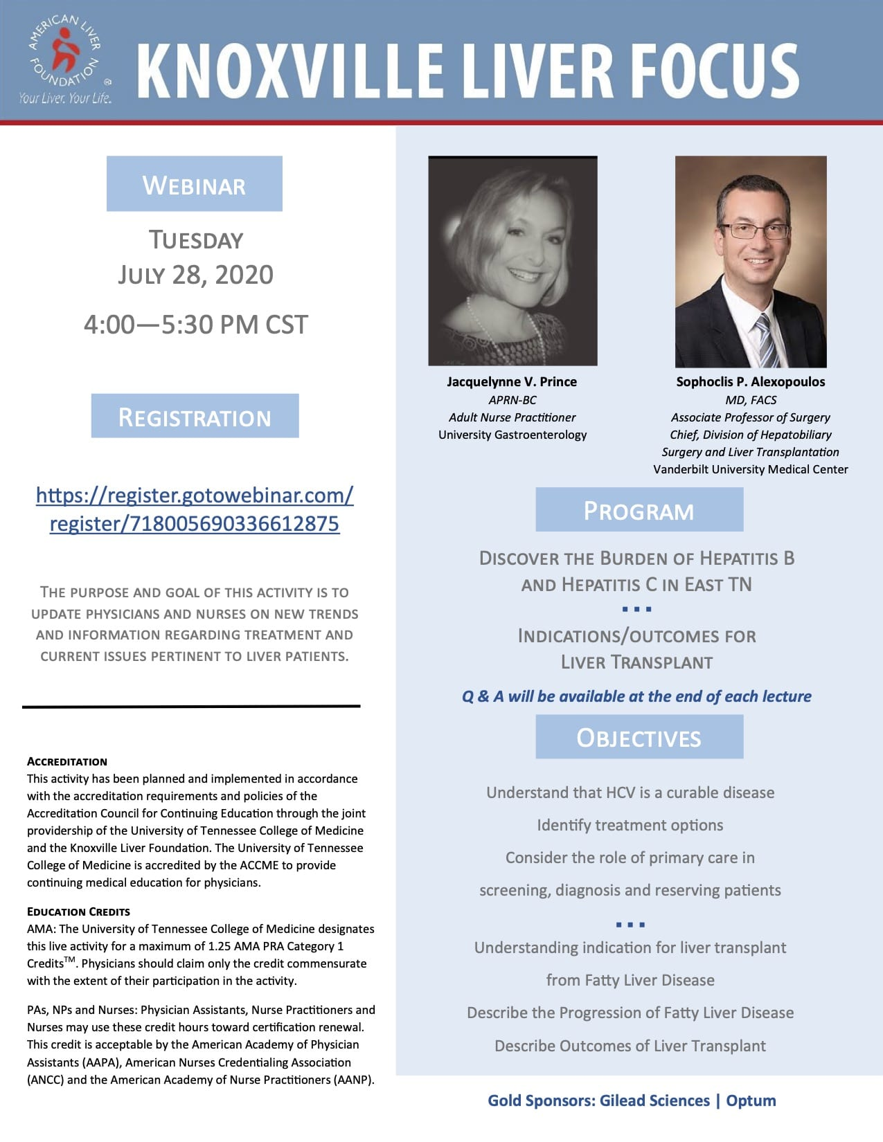 Liver Focus Webinar for Professionals July 2020